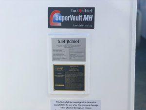 Fuelchief SwRI 95-03 Plate