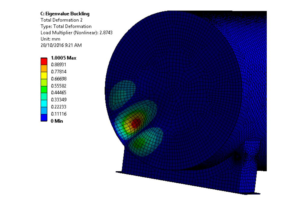 Fuelchief element test seismic evaluation